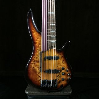 Ibanez SRAS7 7-STRING FRETTED/FRETLESS 2018 Dragon Eye Burst ギター