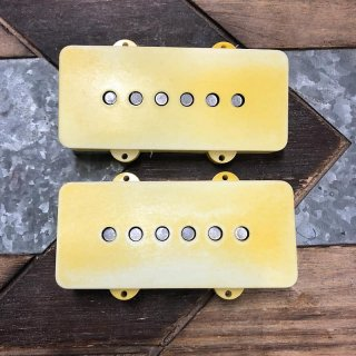 Real Life Relics Aged Fender V Mod Jazzmaster Pickup set of 2 Aged White 0992270000 送料無料