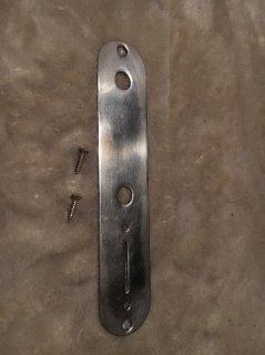 Fenderフェンダー純正レリックTELEコントロールプレート0992058000送料無料
