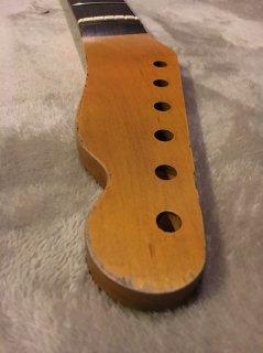 未使用 ALLPARTS製Fenderフェンダーテレキャスター 9.5 C レリック加工 ローズウッドヴィンテージ ギターネック