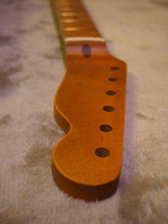 未使用ALLPARTS製Fenderフェンダーテレキャスター9.5 C ダークレリック加工 メイプル ヴィンテージ ギターネック