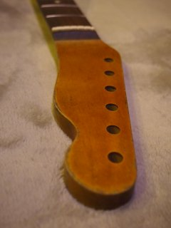 未使用ALLPARTS製Fenderフェンダーテレキャスター9.5 C レリック加工 ローズウッド ヴィンテージ ギターネック