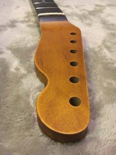 未使用 ALLPARTS製Fenderフェンダーテレキャスター 22 XJ 9.5C レリック加工 ローズウッド ヴィンテージ ギターネック