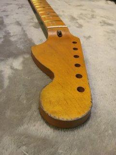 未使用 ALLPARTS製Fenderフェンダーストラトキャスター CBS レリック加工 メイプル ヴィンテージ ギターネック