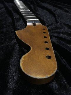 未使用 ALLPARTS製Fenderフェンダーストラトキャスター CBS 7.25Cレリック加工 ローズウッド ヴィンテージ ギターネック