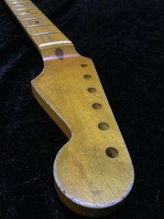 未使用 ALLPARTS製Fenderフェンダーストラトキャスター 9.5 C レリック加工 メイプル ヴィンテージ ギターネック