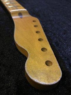 未使用 ALLPARTS製Fenderフェンダーテレキャスター 9.5C レリック加工 メイプル ヴィンテージ ギターネック