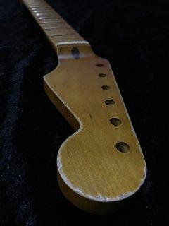未使用 ALLPARTS製Fenderフェンダーストラトキャスター9.5C レリック加工 メイプル ヴィンテージ ギターネック