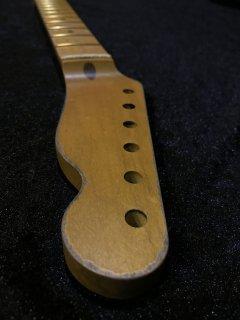 未使用 ALLPARTS製FenderフェンダーテレキャスターFAT9.5C レリック加工 メイプルヴィンテージ ギターネック