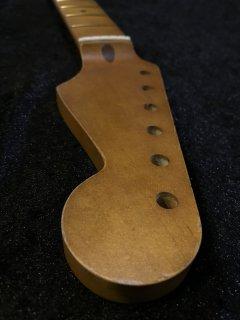 未使用 ALLPARTS製Fenderフェンダーストラトキャスター 9.5Cダーク レリック加工 メイプル ヴィンテージ ギターネック