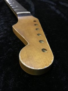 未使用 ALLPARTS製FenderフェンダーストラトキャスターFAT9.5C レリック加工 ローズウッド ヴィンテージ ギターネック