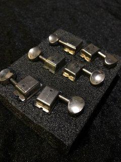 Kluson クルーソンAged Nickel Single Lineシングルライン Tuning Machines KD-6B-NMレリック加工ペグ送料無料