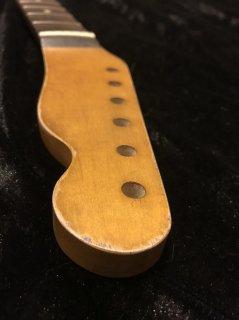 ALLPARTS製Fenderフェンダーテレキャスター 9.5C レリック加工 ローズウッド ヴィンテージ ギターネック