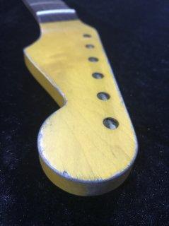 ALLPARTS製Fenderフェンダーストラトキャスター 7.25C レリック加工 ローズウッド ヴィンテージ ギターネック