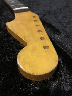ALLPARTS製Fenderフェンダージャズマスター 10Cレリック加工 ローズウッドヴィンテージ ギターネック
