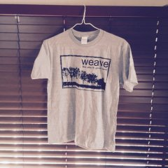 weave / the way to your heart T-shirts 2nd edition(グレー / PrintStar 5.6オンス ヘビーウェイト)