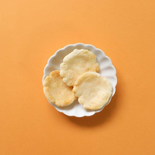 《プレーン・ Oil Free》プレーンおかき(究極の素焼きおかき) - The Original Flavor OKAKI - Gluten & Oil Free OKAKI
