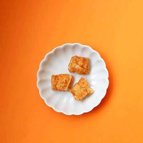 【揚げおかき】 関西醤油の揚げおかき(和歌山と京都のおいしい醤油蔵めぐり)- Fried OKAKI - Soy Sauce