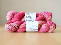 【LIFE IN THE LONGGRASS】<br>4ply Sock<br>JEZEBEL