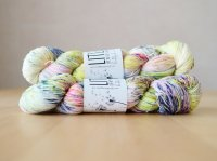 【LIFE IN THE LONGGRASS】<br>Singles Sock 1ply<br>URBAN FLOWERS