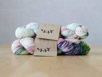 【Lichen and Lace】<br>1ply Superwash Merino Fingering<br>marsh lily