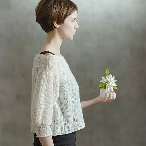 Pappus pullover by Midori Hirose