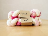 【Lichen and Lace】<br>1ply Superwash Merino Fingering<br>orchid