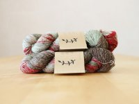 【Lichen and Lace】<br>1ply Superwash Merino Fingering<br>sea grass