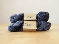 【Lichen and Lace】<br>1ply Superwash Merino Fingering<br>soot
