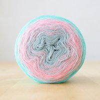 【Jolly knits】<br>Gradient Yarn Merino 3PLY(1000m)<br>ICE QUEEN