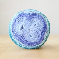【Jolly knits】<br>Gradient Yarn Merino 3PLY(1000m)<br>MISS GRAPE