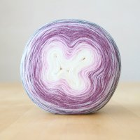 【Jolly knits】<br>Gradient Yarn Merino 3PLY(1000m)<br>SUGAR PLUM