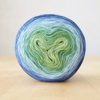 【Jolly knits】<br>Gradient Yarn Merino 4PLY(1000m)<br>HORTENSIA DREAM