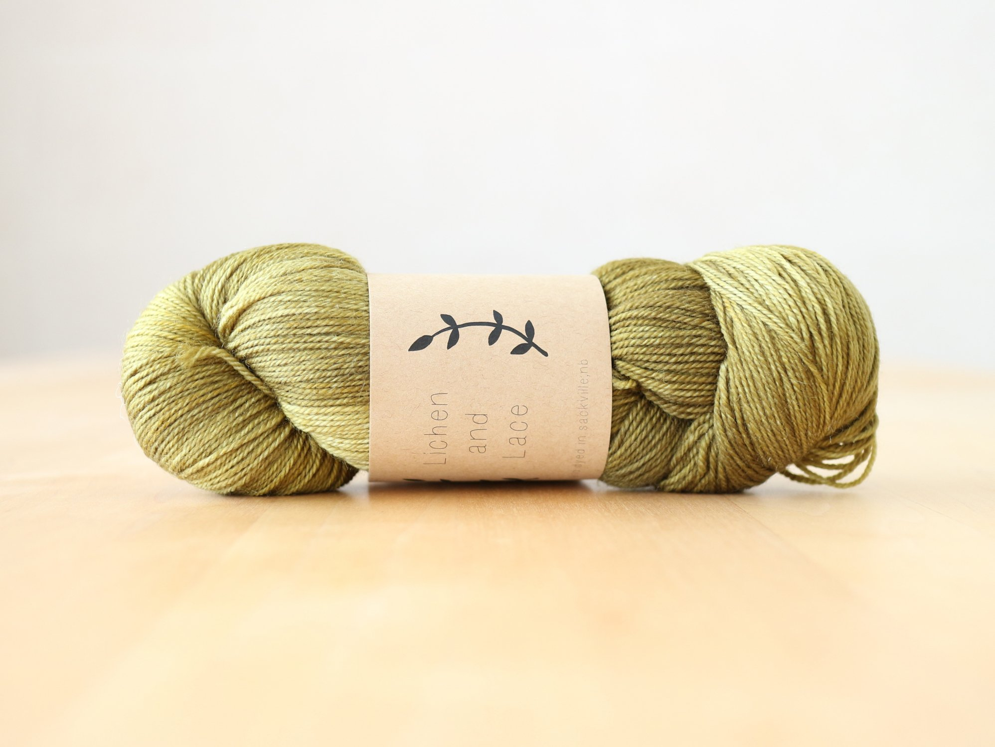 【Lichen and Lace】<br>80/20 Sock<br>shrub