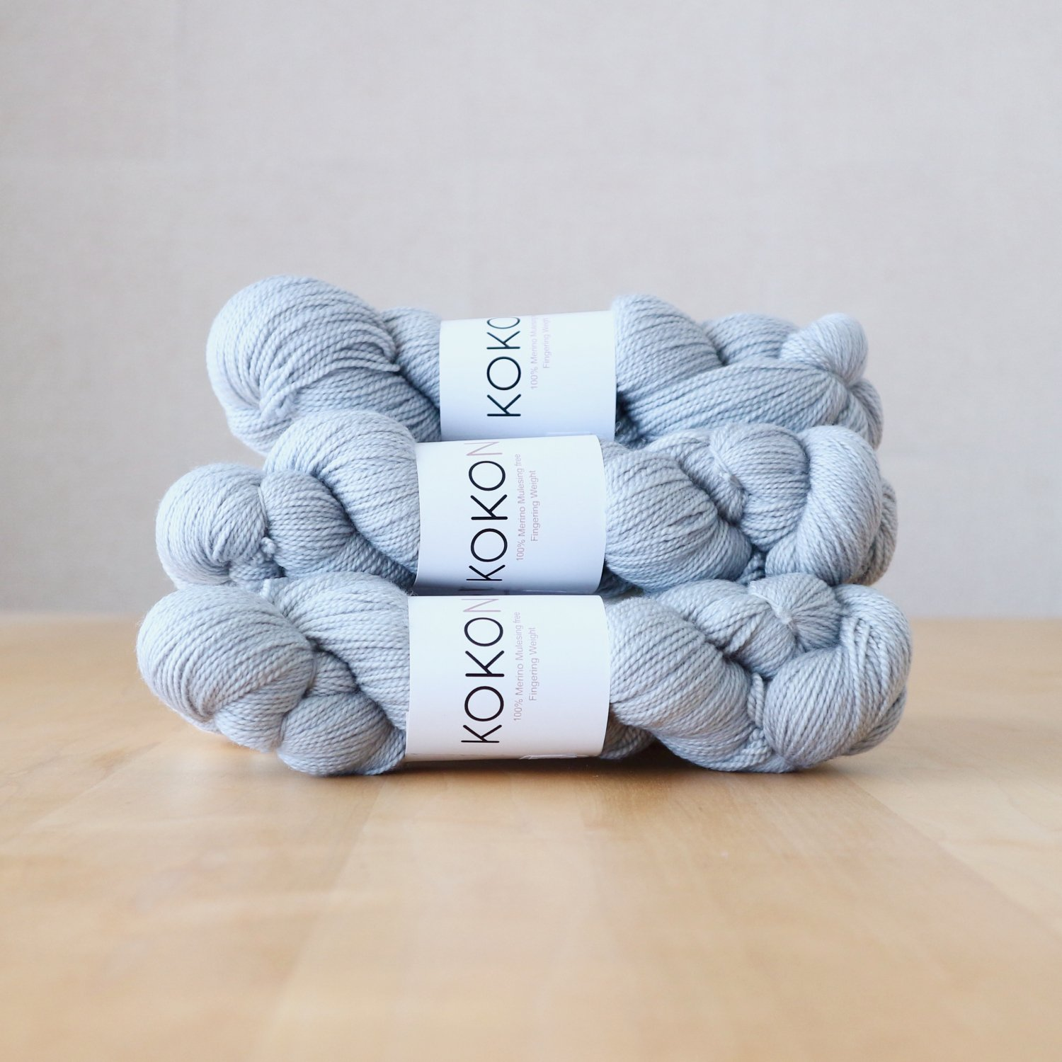 【KOKON yarn】<br>Fingering Merino<br>Star
