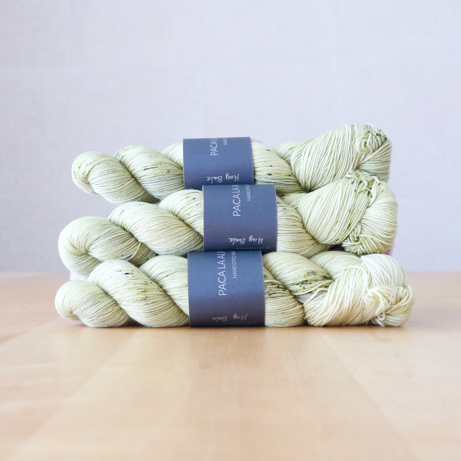 【Paca La Alpaca】<br>Superwash Merino Sock 4Ply<br>Hay Bale
