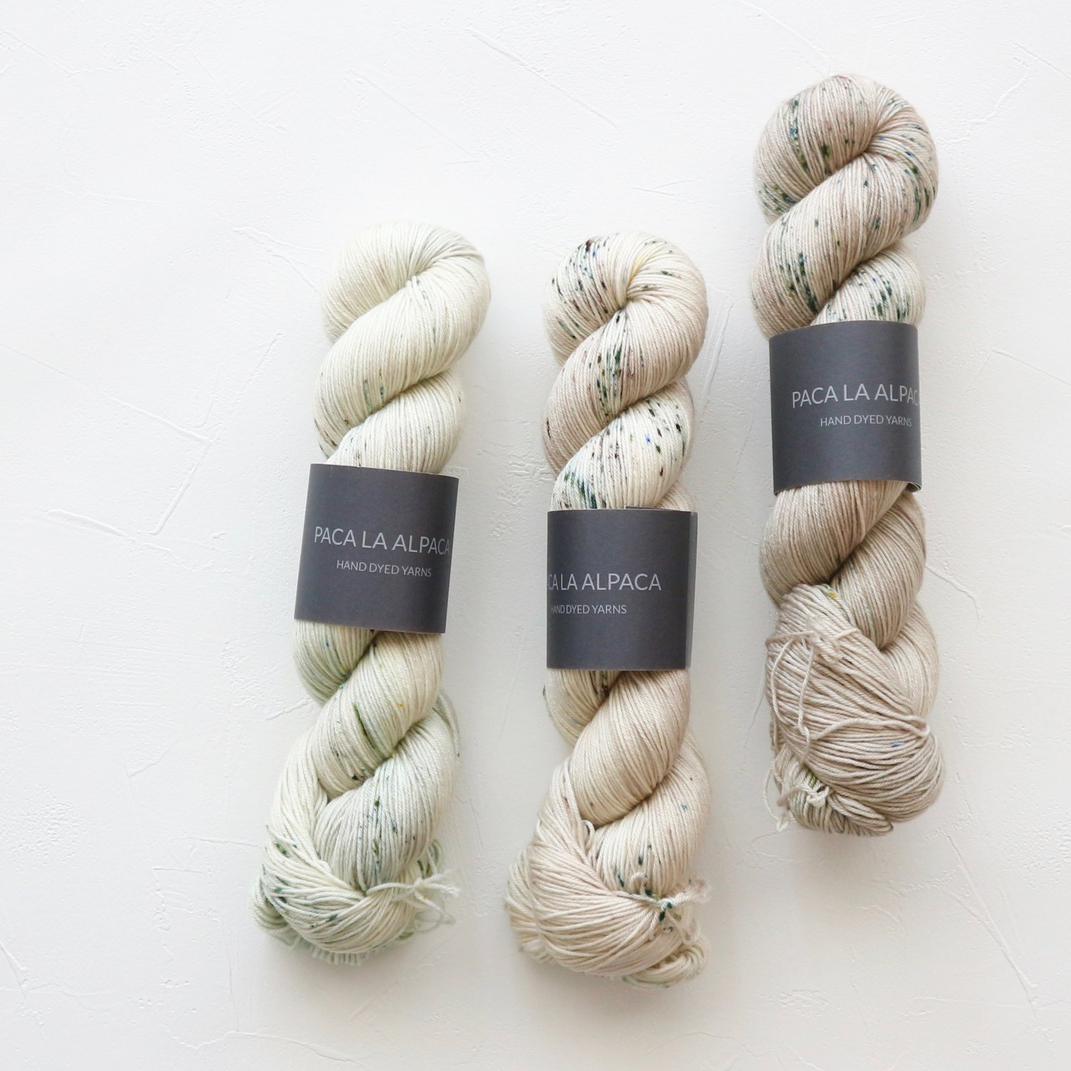 【Paca La Alpaca】<br>Superwash Merino Sock 4Ply<br>Fade Set (C)