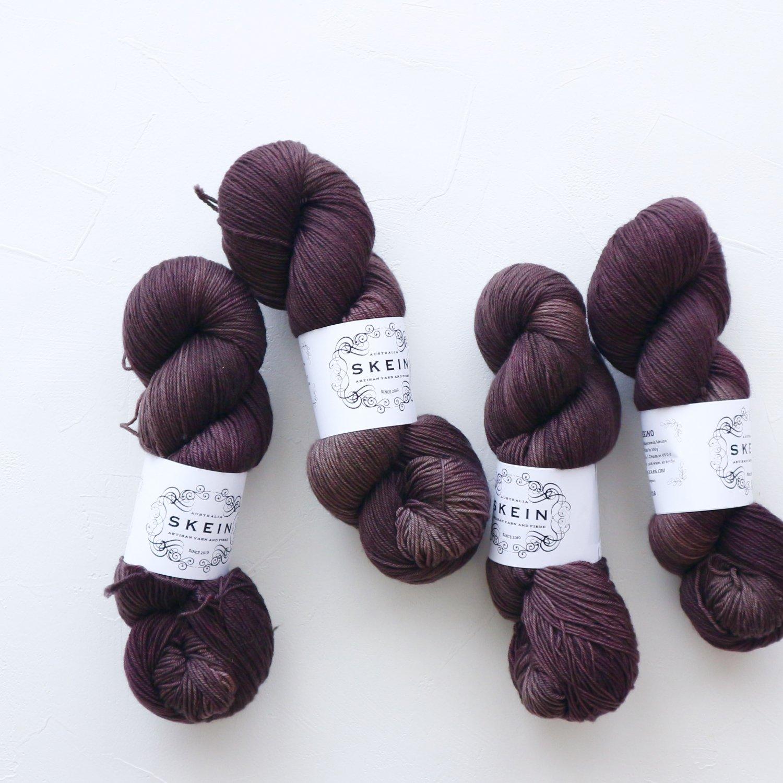 【Skein Yarn】<br>El Merino<br>Cocoa