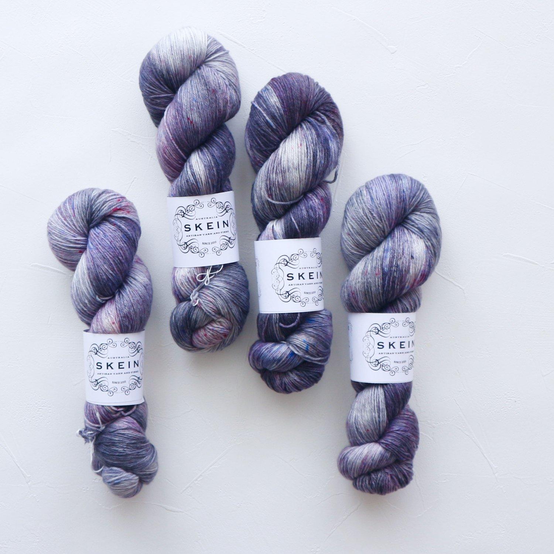 【Skein Yarn】<br>Merino Cashmere Fingering<br>Mist
