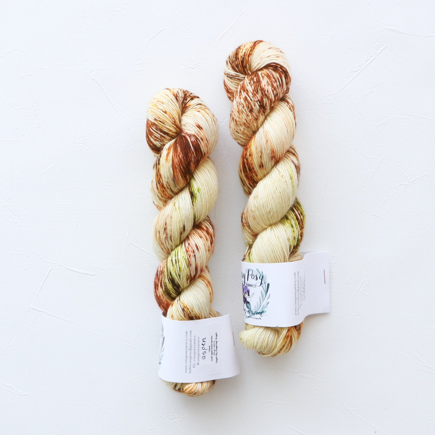 【Cosy Posy Yarn】<br>CLOUD<br>Aspen