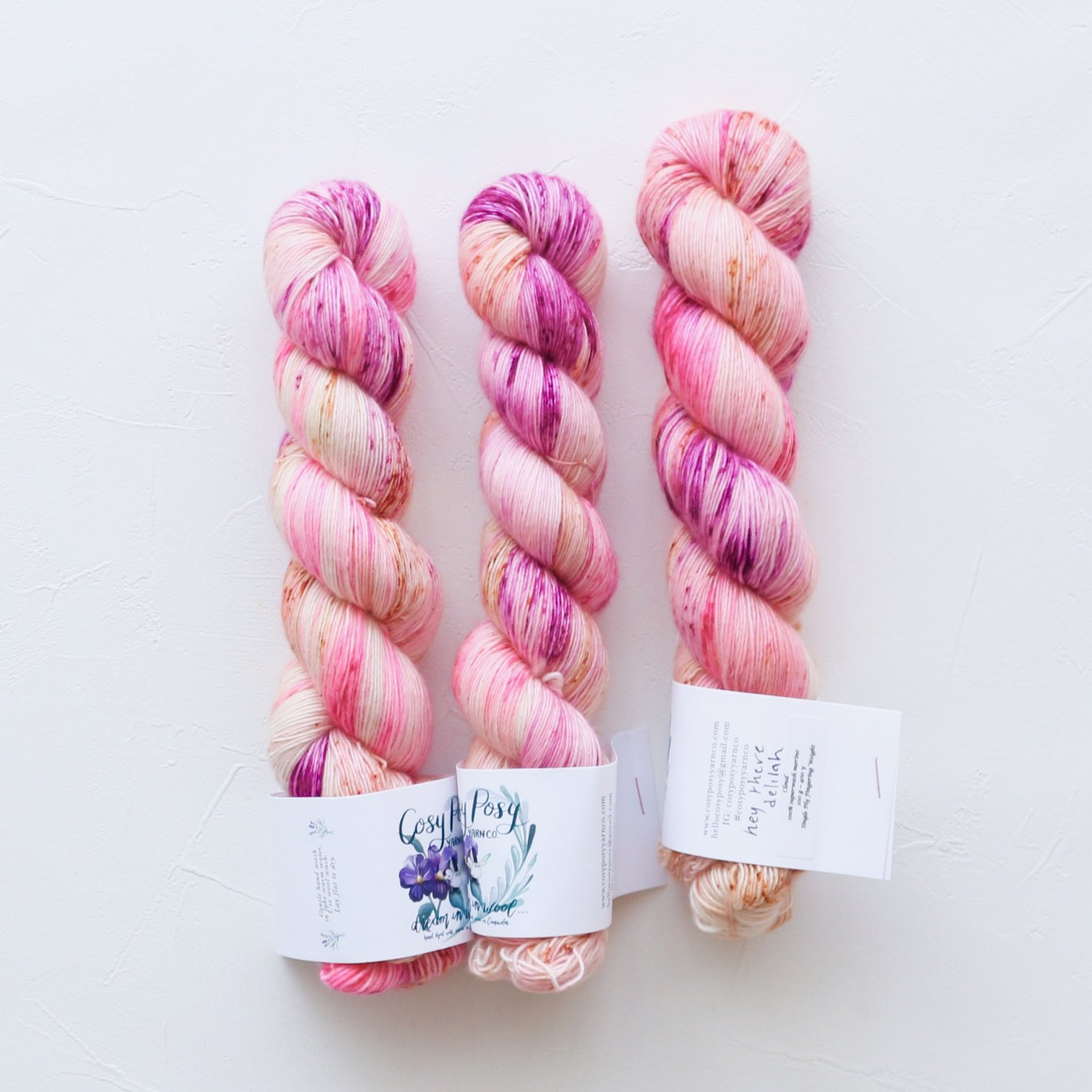 【Cosy Posy Yarn】<br>CLOUD<br>Hey There Delilah