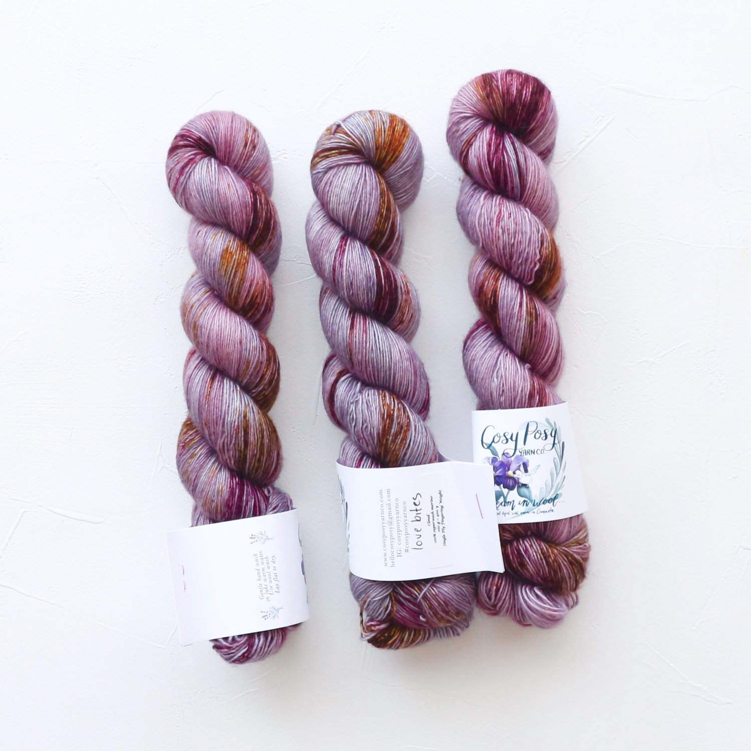 【Cosy Posy Yarn】<br>CLOUD<br>Love Bites