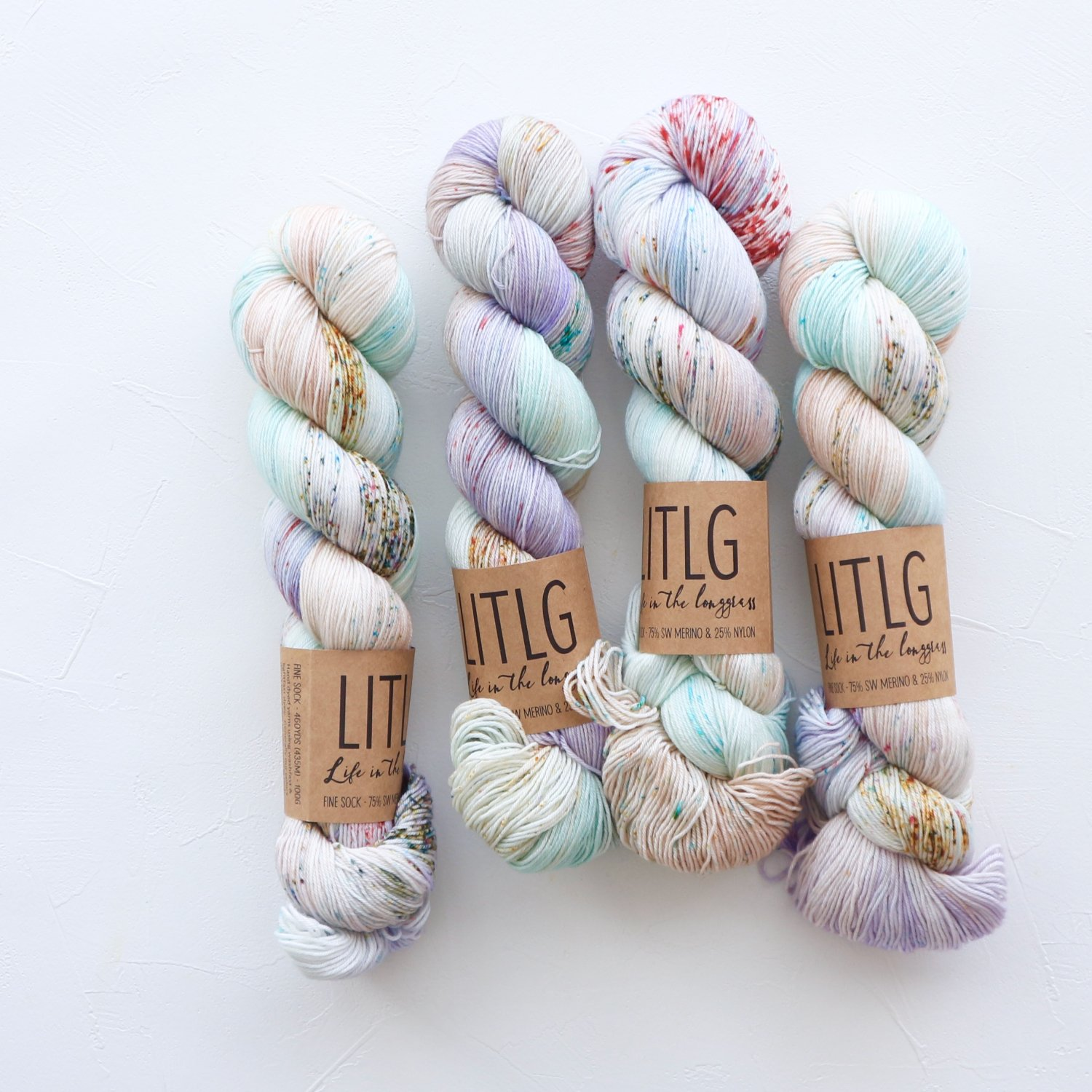 【LIFE IN THE LONGGRASS】<br>Fine Sock<br>Rosehip