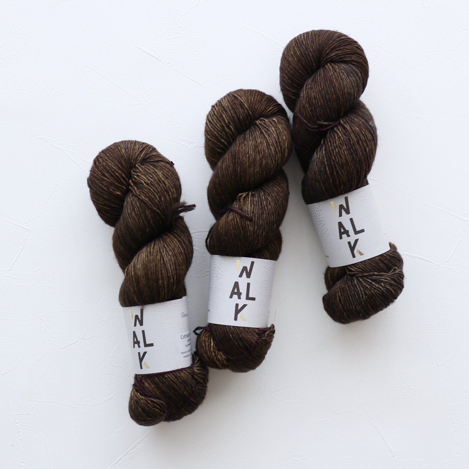 【WalkCollection】<br>Cottage Merino<br>EBONY