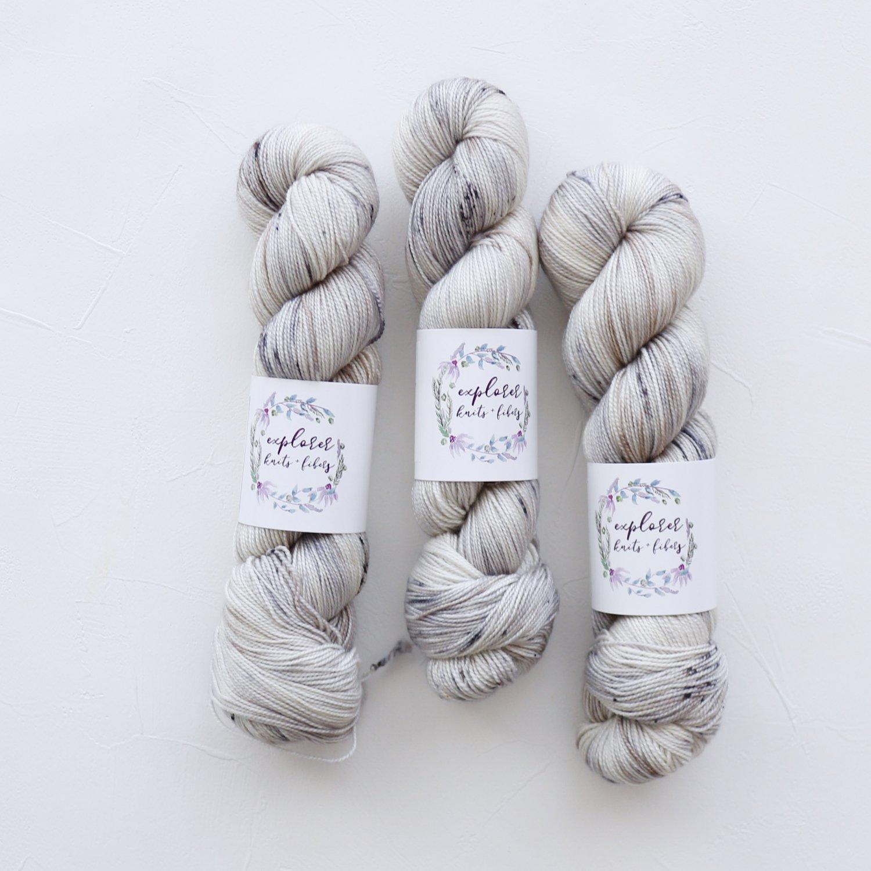 【Explorer Knits + Fibers】<br>Rockies Sock<br>Hedwig