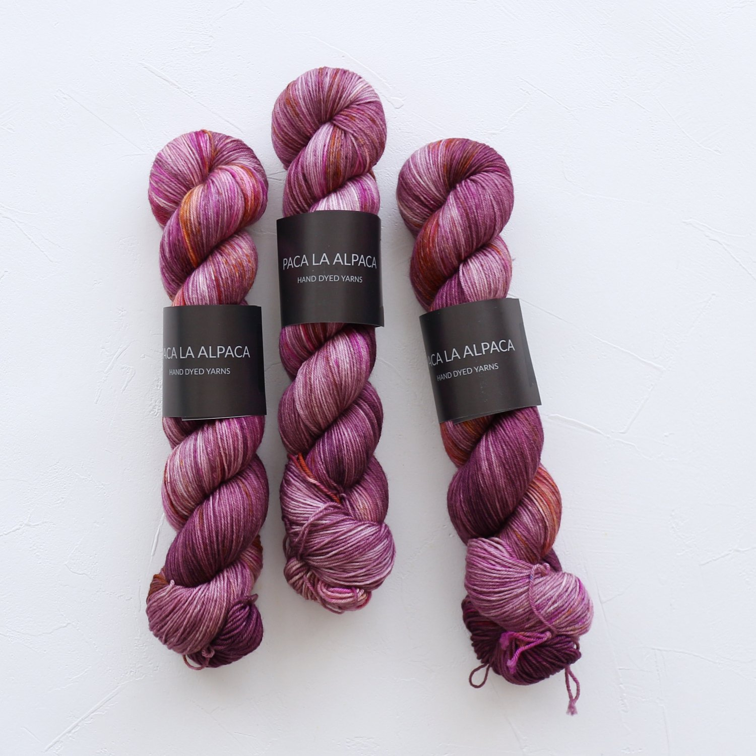 【Paca La Alpaca】<br>Superwash Merino Sock 4Ply<br>Date Line