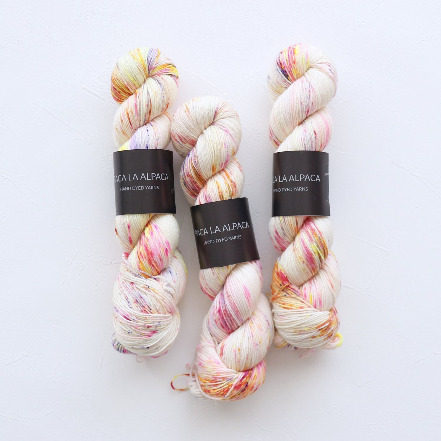 【Paca La Alpaca】<br>Superwash Merino Sock 4Ply<br>Hairspray