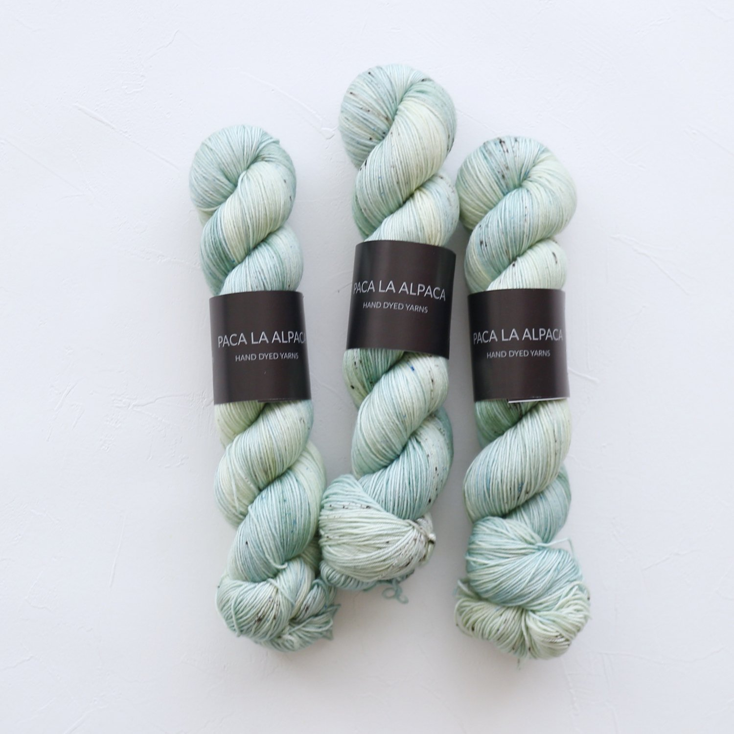 【Paca La Alpaca】<br>Superwash Merino Sock 4Ply<br>Sage