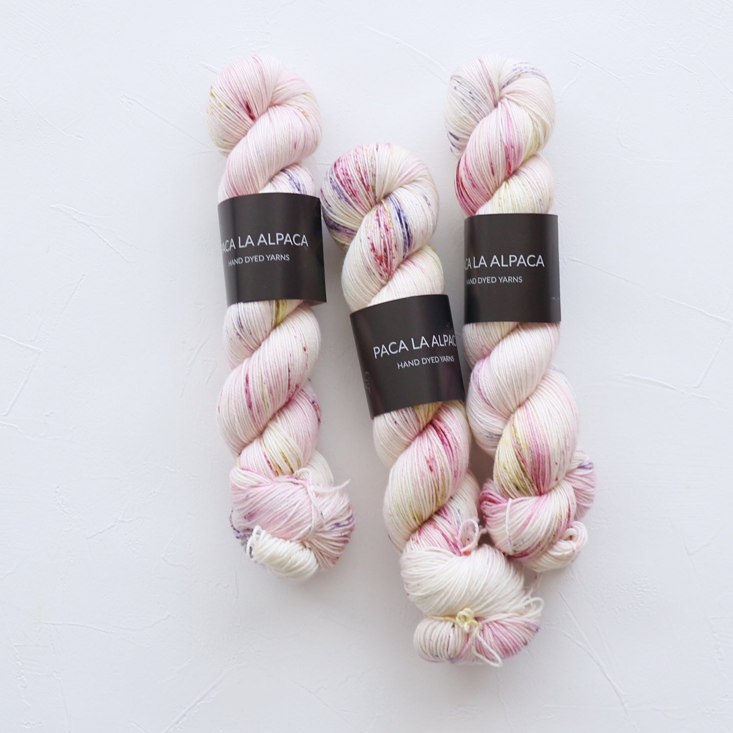 【Paca La Alpaca】<br>Superwash Merino Sock 4Ply<br>Lily
