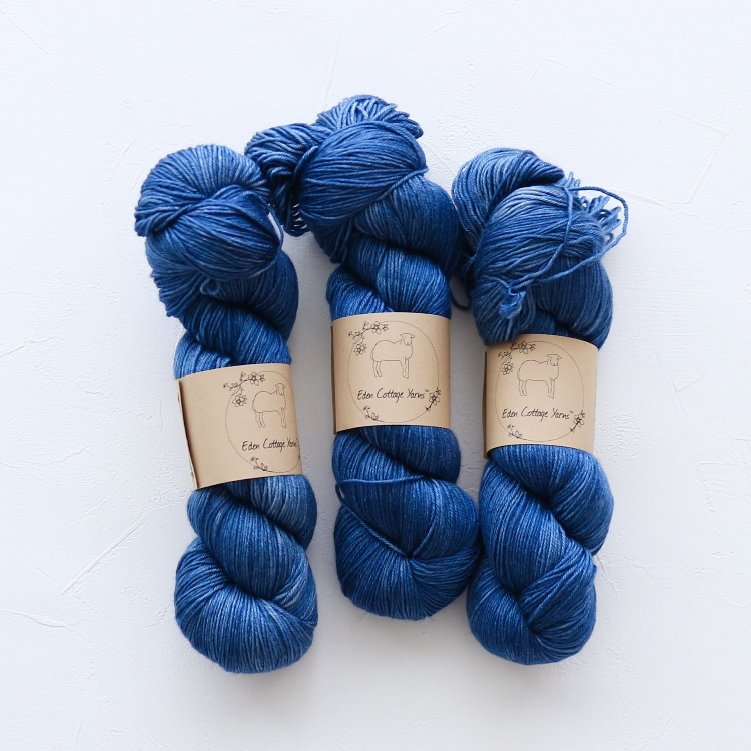 【Eden Cottage Yarns】<br>Titus 4ply<br>Midnight